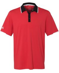 adidas Golf S Climacool Performance Polo A166 -ray Red/ Bla 3xl