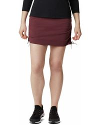 Columbia Anytime Casual Skort - Red