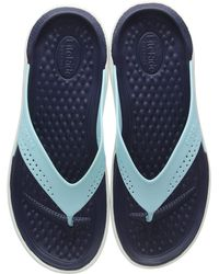 Crocs™ Crocband U, Zuecos Unisex Adulto, Blanco (White/Blue Jean), 41/42 EU - Multicolor