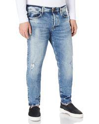 True Religion Marco Slim Jeans - Blu