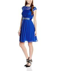 Coast - Lori Lee Lace Short Sleeveless Dress - Lyst