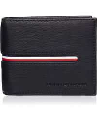 Tommy Hilfiger - Downtown Mini CC Wallet Black - Lyst
