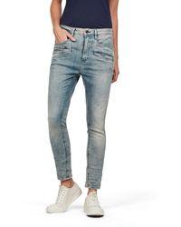 G-Star RAW Dadin 3D Low Waist Boyfriend Jeans - Azul