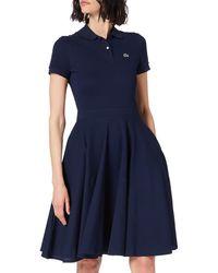 Lacoste EF1682 Vestido - Azul