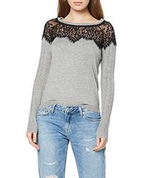 Guess LS RN ISA Sweater Maglione Donna