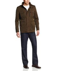 Cole Haan - Coated Cotton Field Jacket - Lyst