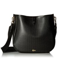 Lacoste - Hobo Bag, Nf2118ce - Lyst