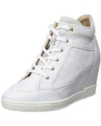 adidas Top Ten Hi Sleek W chaussures whitemet.silver