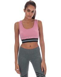 Skechers Womens Womens Lyanna Sports Bra In Pink - 8