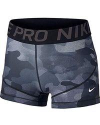 Nike - Pro Short pour Motif Camouflage 7,6 cm - Lyst