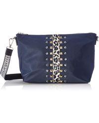 Desigual Accessories Fabric Across Body Bag - Blu