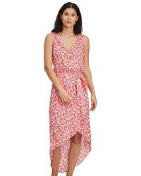 O'neill Sportswear LW Cali Dress Vestito Casual - Rosso