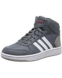 f230d3fc Unisex Adults' Hoops Mid 2.0 K Basketball Shoes - Gray