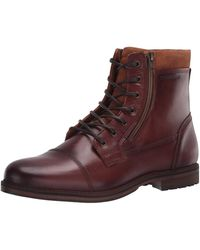 ALDO Lucio Combat Boot - Brown