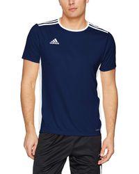 adidas Soccer Entrada 18 Jersey - Blu