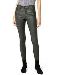 Vero Moda Vmseven Nw Ss Smooth Coatclr Pant Noos Trouser - Multicolour
