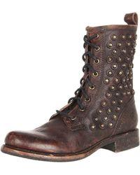 Frye Jenna Disc Lace Boot - Brown