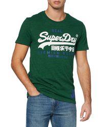 Superdry VL Duo Tee T-Shirt - Noir