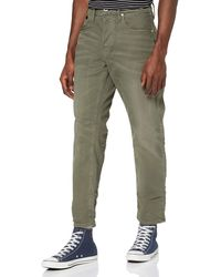 G-Star RAW Loic Relaxed Tapered Colored Loose Fit Jeans - Green