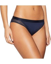 Tommy Hilfiger Bikini Culotte - Azul