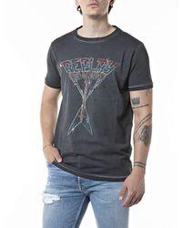 Replay - M3384 T-Shirt - Lyst