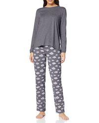 Esprit Jelda CAS NW Pyjama Pijama - Azul