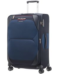 Samsonite Dynamore Spinner 67/24 Expandable - 2.9 Kg, 74 L Hand Luggage, 67 Cm, 82 Liters, Blue
