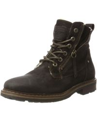 S.oliver 16216 Combat Boots - Braun