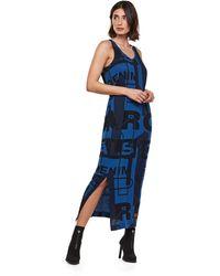 G-Star RAW Lyker Straight Dress - Blue