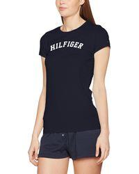 Tommy Hilfiger - Ss Tee Print Pyjama Top - Lyst