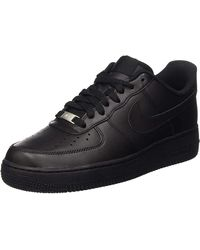 Nike Air Force 1 315122 Herren Low-Top Sneaker - Schwarz