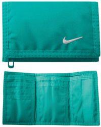 Nike Wallet Teal - Blue