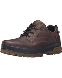 Ecco RUGGED Track Hiking Boots - Brown