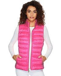 Lilly Pulitzer - Elana Puffer Vest (pink Sunset) Women's Vest - Lyst