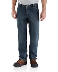 Carhartt Relaxed Fit Holter Dungaree - Blue