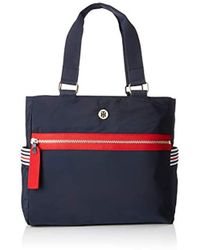 d374abed Women's Tommy Hilfiger Totes and shopper bags Online Sale - Lyst