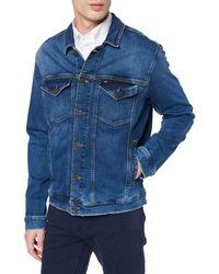 Tommy Hilfiger Regular Trucker Jacket Blouson - Bleu