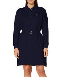 Lacoste Ef2286 Dress - Grey