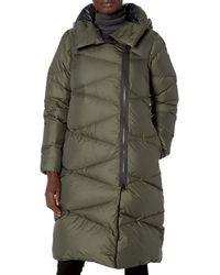 Helly Hansen W Tundra Down Coat Track Jacket - Green