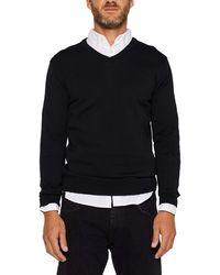 Esprit 999ee2i804 suéter - Negro