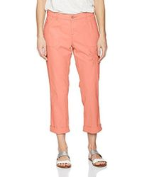 Lee Jeans - Straight Fit Embroidered Bohemian Cargo Capri Pant - Lyst