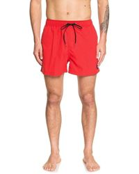 Quiksilver Everyday Volley 17 Swim Trunk Boardshorts - Pink
