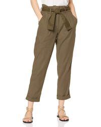 FIND Pantalon à Nouer à la Taille - Vert