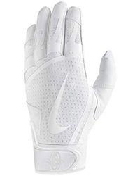 Nike Huarache Edge BG Gants - Blanc