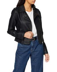 Miss Selfridge Pu Biker Jacket - Black