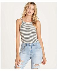 Billabong - Free To Be Snap Closure Bodysuit - Lyst