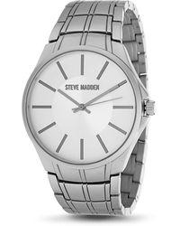 Steve Madden Dress Watch Smw439 - White