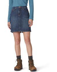 Dickies Perfect Shape Denim Skirt - Blue