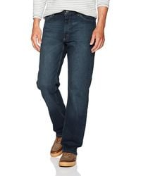Wrangler Classic 5-pocket Relaxed Fit Flex Jean - Blue