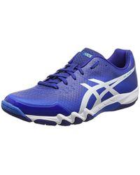 61d586fdd6 Gel-blade 6 Multisport Indoor Shoes - Blue